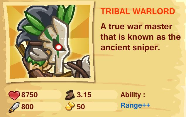 TRIAL WARLORD